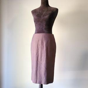 NWOT ESCADA bronze pencil skirt